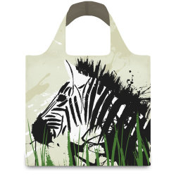 Сумка LOQI FASHION ANIMA Zebra and Giraffe