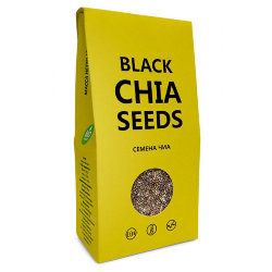 Семена чиа (Black Chia Seeds), Компас Здоровья, 150 г
